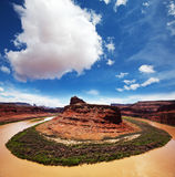 Canyonlands landscapes Stock Photography