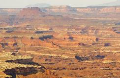 Canyonlands and mesa cliffs Royalty Free Stock Image