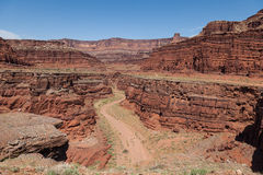 Canyonlands N P 犹他 图库摄影