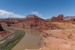 Canyonlands N P 风景 图库摄影