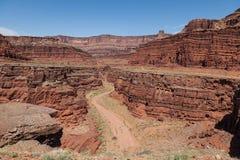 Canyonlands N P l'utah Fotografia Stock