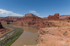 Canyonlands N P Paisagem Fotografia de Stock