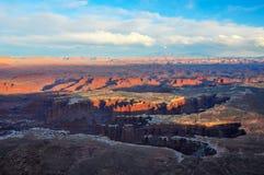 Canyonlands Nationaal Park Stock Foto