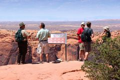 Canyonlands Nationaal Park Royalty-vrije Stock Afbeelding