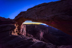 Canyonlands National Park, mesa arch Stock Photography
