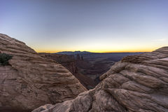 Canyonlands National Park, mesa arch Royalty Free Stock Image