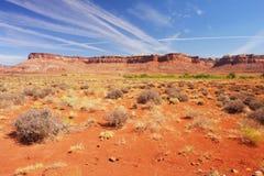 Canyonlands National Park. The Needles, Canyonlands National Park, Utah Royalty Free Stock Photography