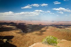 Canyonlands National Park in Southeastern Utah Royalty Free Stock Photo