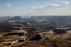 Canyonlands National Park in Southeastern Utah Royalty Free Stock Images