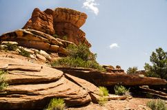 Canyonlands National Park in Southeastern Utah - The Needles Stock Photo