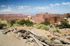 Canyonlands National Park in Southeastern Utah Stock Photo