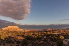 Canyonlands National Park Sunrise Landscape Stock Photography