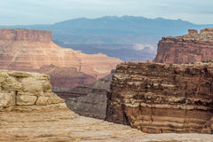 Canyonlands National Park. Is a U.S. National Park located in southeastern Utah near the town of Moab Stock Photo
