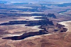 Canyonlands National Park Utah. Deep Canyonlands Stock Images