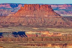 Canyonlands National Park Utah Scenic Landscape. The scenic landscape of canyon lands national park Utah Stock Images