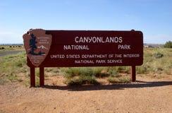 Canyonlands National Park, Utah Stock Images