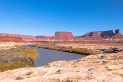 Canyonlands National Park-White Rim Road Royalty Free Stock Photo