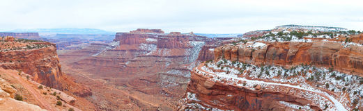 Canyonlands National Park in Winter Royalty Free Stock Image