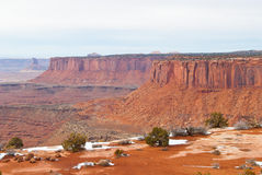 Canyonlands National Park in Winter Stock Photography