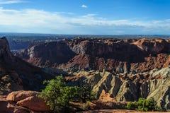 Canyonlands nationalpark arkivfoto