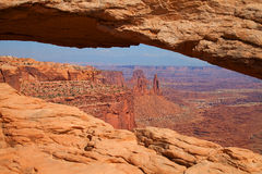 Canyonlands nationalpark Arkivbilder