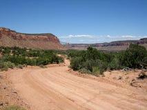 Canyonlands nationalpark Fotografering för Bildbyråer
