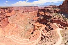 Canyonlands nationalpark Arkivbilder