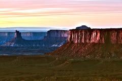 Canyonlands nationalpark i Utah Arkivbild