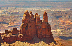 Canyonlands Nationalpark in Utah, USA Stockbilder