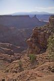 Canyonlands niewygładzony Park Narodowy Zdjęcie Royalty Free
