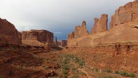 Canyonlands NP,犹他,美国 图库摄影