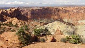 Canyonlands NP,犹他,美国 免版税图库摄影