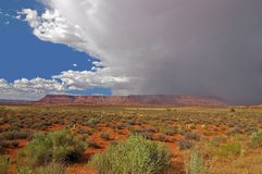 Canyonlands NP Utah, Sturm Stockbild