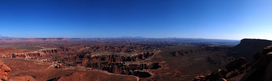 Canyonlands Panorama Royalty Free Stock Photos