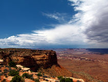 Canyonlands panorama Stock Photo