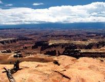 Canyonlands panorama Royalty Free Stock Photo