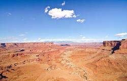 Canyonlands park narodowy, UT Zdjęcia Royalty Free