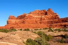 Canyonlands parka narodowego krajobraz Fotografia Royalty Free