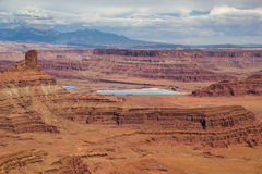 Canyonlands Potash Ponds Stock Photo
