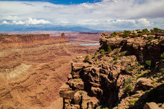 Canyonlands Potash Ponds Royalty Free Stock Photography