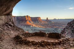 Canyonlands Sacred Alcove Royalty Free Stock Photos