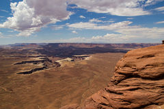 Canyonlands Sandstone Layers Royalty Free Stock Image