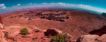 canyonlands Utah στοκ φωτογραφία με δικαίωμα ελεύθερης χρήσης
