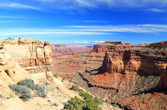 Canyonlands Utah, USA Royaltyfria Bilder