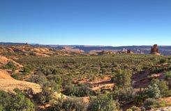 Canyonlands utsikt Fotografering för Bildbyråer