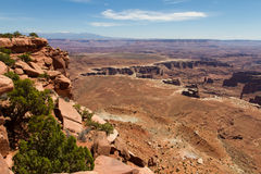 Canyonlands and the White rim Royalty Free Stock Photo