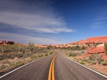 Canyonlands withroad Stock Images