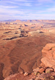canyonlandsGreen River utsikt Arkivfoto