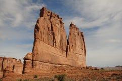 canyonlandsmonolit Arkivfoto