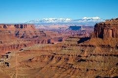 canyonlandsnationalpark royaltyfri bild
